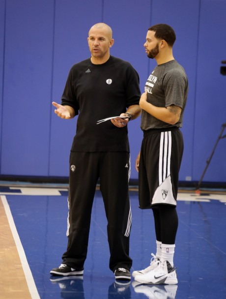 Jason Kidd y Deron Williams./ Getty Images