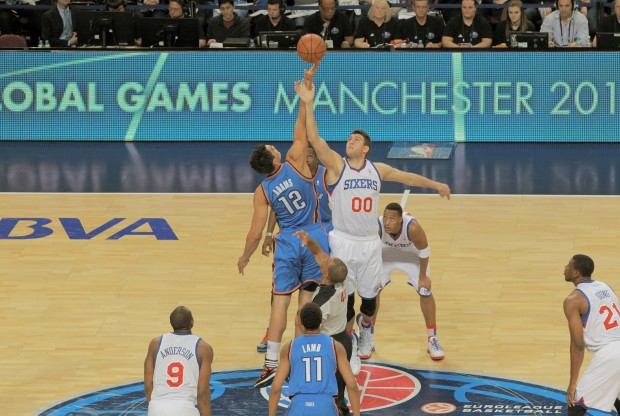 Oklahoma City Thunder vs. Philadelphia 76ers./ Getty Images