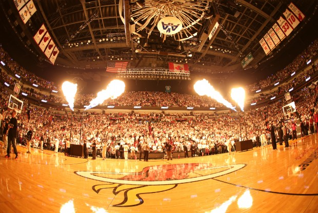 American Airliness Arena./ Getty Images