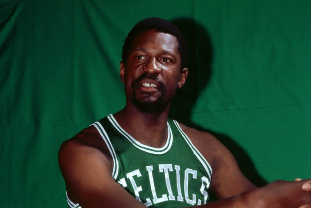 Bill Russell./ Getty Images
