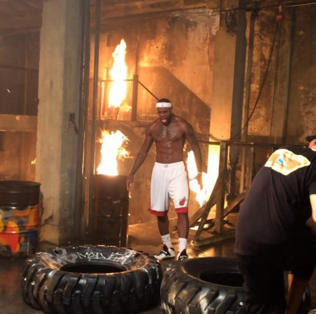 LeBron James./ Instagram