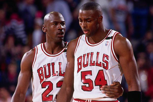 Michael Jordan y Horace Grant / Getty Images