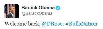 Twitter Obama