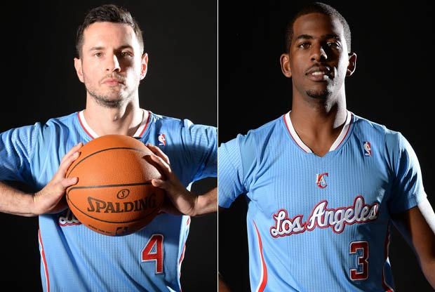 Chris Paul y J.J. Redick / Getty Images