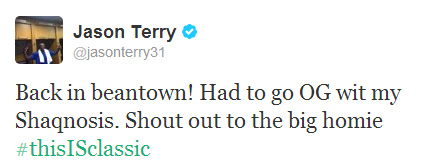 Jason Terry./ Twitter