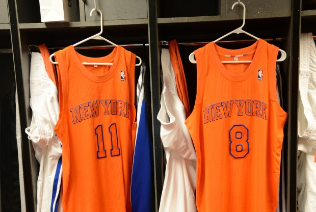Vestuario New York Knicks./ Getty Images