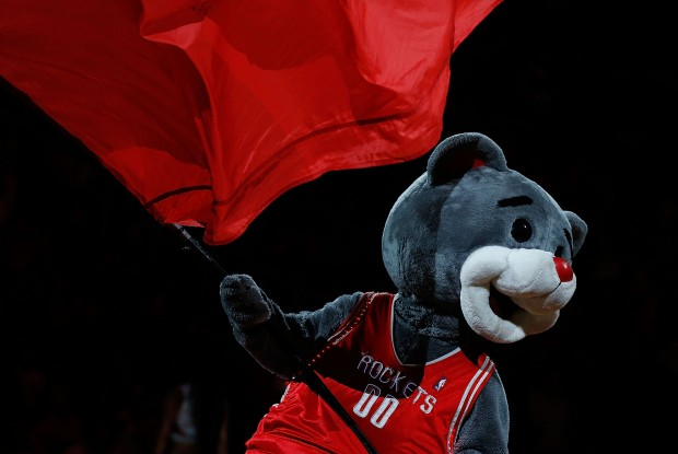 Mascota Houston Rockets./ Getty Images