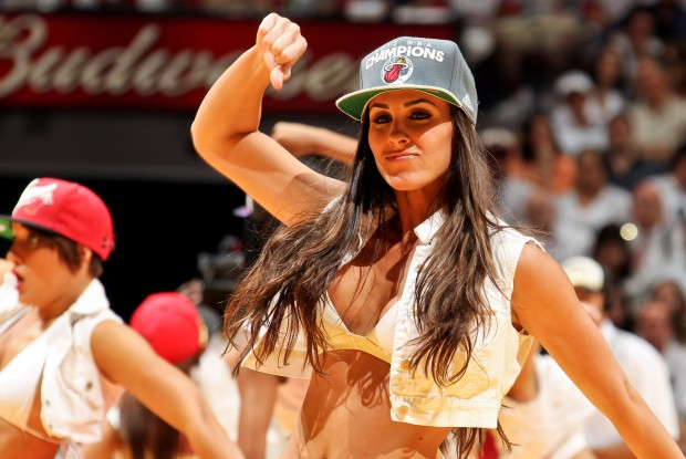 Miami Heat Dancers./ Getty Images