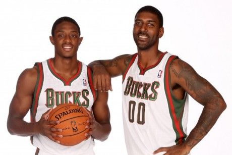 Brandon Knight y O.J. Mayo./ Getty Images