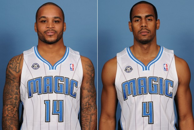 Jameer Nelson y Arron Afflalo./ Getty Images