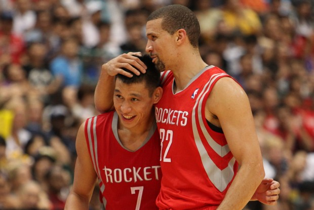 Jeremy Lin y Francisco García./ Getty Images