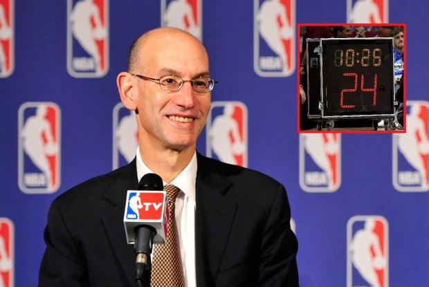 Adam Silver./ Getty Images