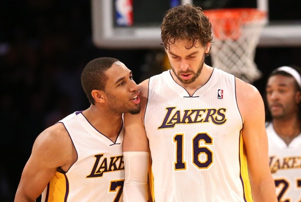 Xavier Henry y Pau Gasol./ Getty Images