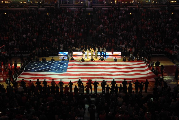NBA Hoops For Troops./ Getty Images