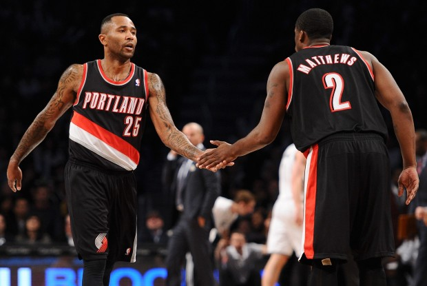 Mo Williams y Wesley Matthews./ Getty Images