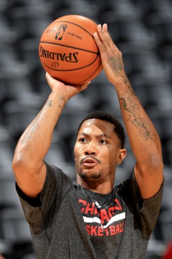 Derick Rose./ Getty Images