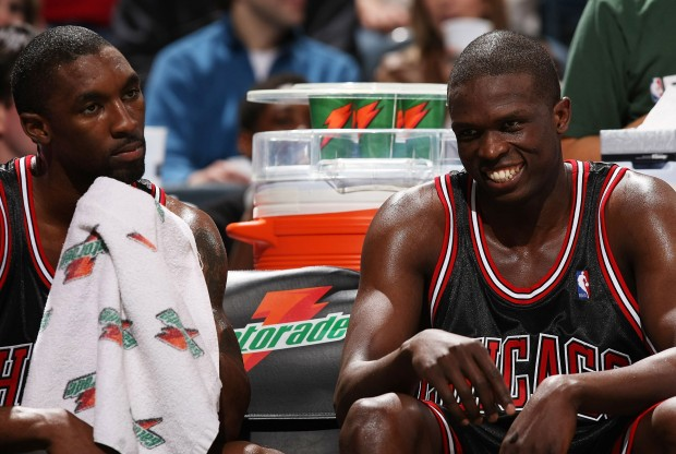 Ben Gordon y Luol Deng./ Getty Images