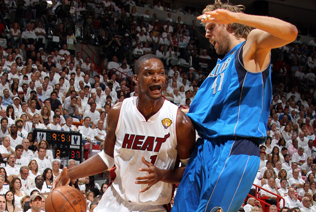 Chris Bosh / Getty Images