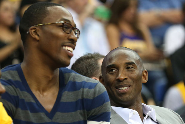 Dwight Howard y Kobe Bryant / Getty Images