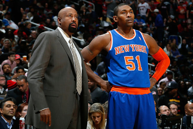 Metta World Peace 7 Mike Woodson / Getty Images