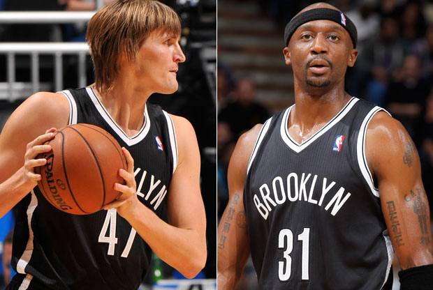 Andrei Kirilenko y Jason Terry / Getty Images