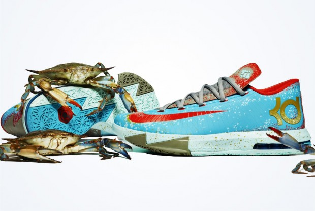 Nike - KD VI 'Maryland Blue Crab'