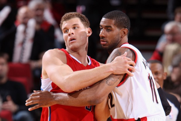 Blake Griffin y LaMarcus Aldridge./ Getty Images