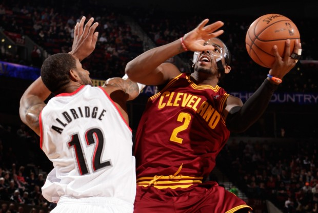 LaMarcus Aldridge y Kyrie Irving./ Getty Images