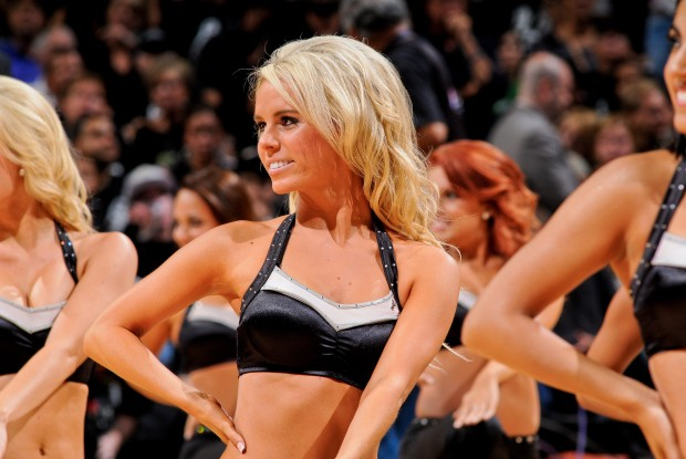 Cheerleaders San Antonio Spurs./ Getty Images