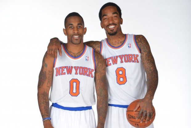 Chris Smith y J.R. Smith./ Getty Images