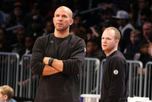 Jason Kidd y Lawrence Frank./ Getty Images