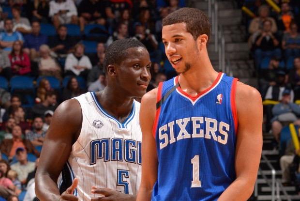 Victor Oladipo y Michael Carter-Williams./ Getty Images