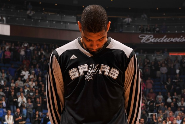 Tim Duncan./ Getty Images