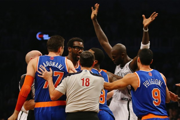 Brooklyn Nets vs. New York Knicks./ Getty Images