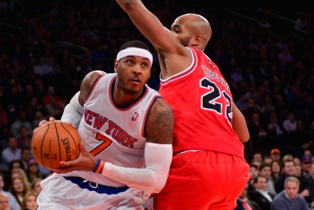 Carmelo Anrthony./ Getty Images