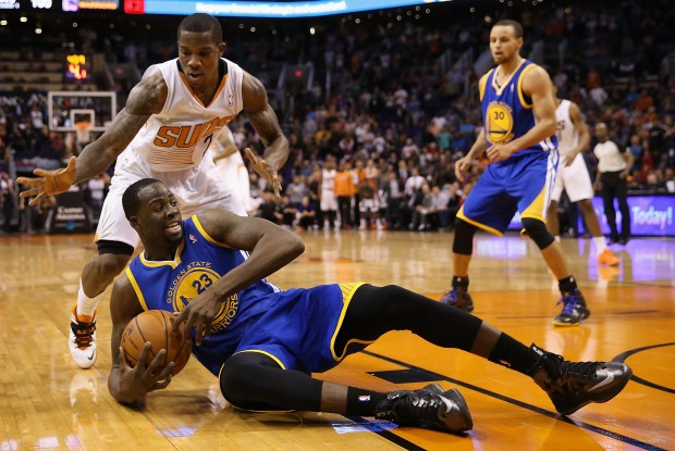 Golden State Warriors vs. Phoenix Suns./ Getty Images