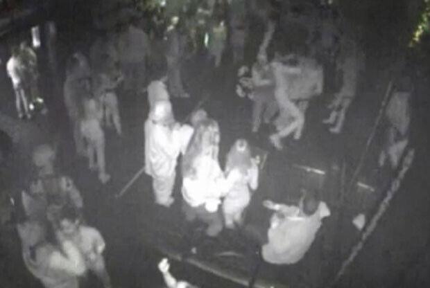El vídeo del incidente de Larry Sanders