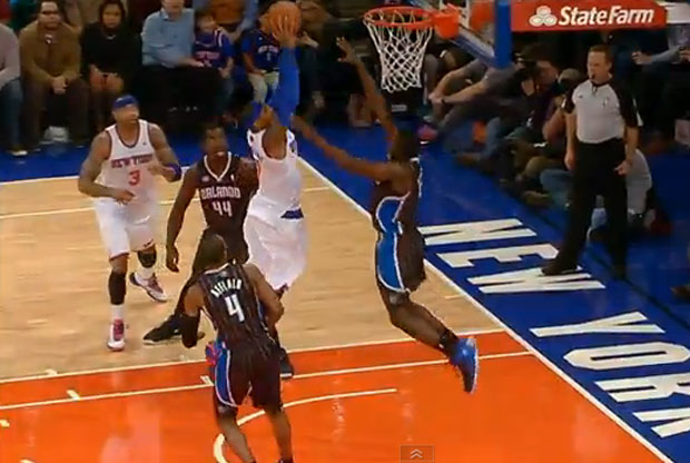 Victor Oladipo frena en seco a Carmelo Anthony