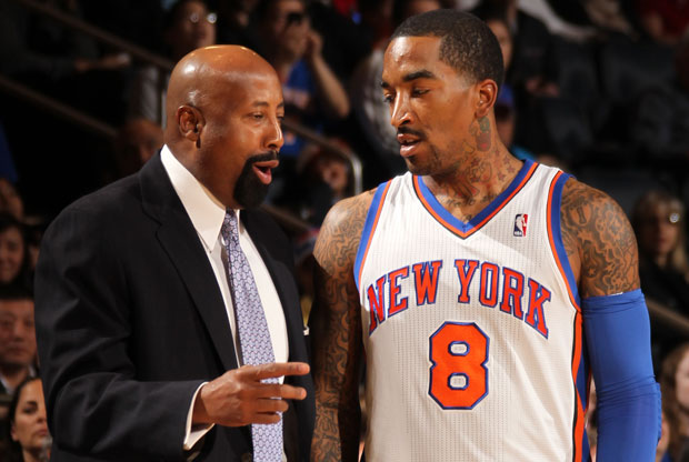 J.R. Smith y Mike Woodson / Getty Images