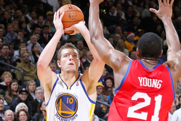 David Lee y Thaddeus Young./ Getty Images