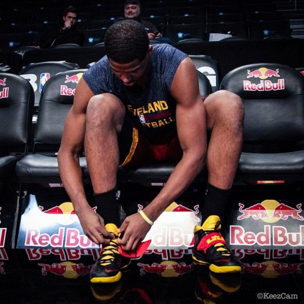 Tristan Thompson./ @KeezCam
