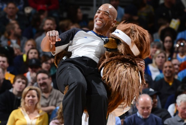 Mascota de Utah Jazz./ Getty Images
