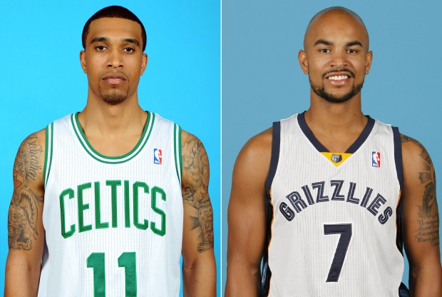 Courtney Lee y Jerryd Bayless./ Getty Images