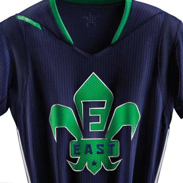 Uniformes All-Star 2014./ Adidas