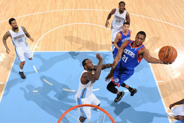 Thaddeus Young./ Getty Images