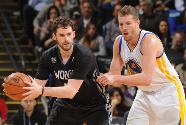 Kevin Love y David Lee./ Getty Images