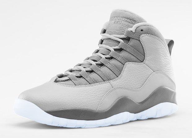 Air Jordan - 10 'Cool Grey'