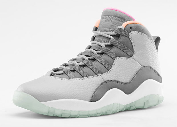 Air Jordan - 10 'Zen Grey'