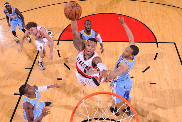 Damien Lillard / Getty Images