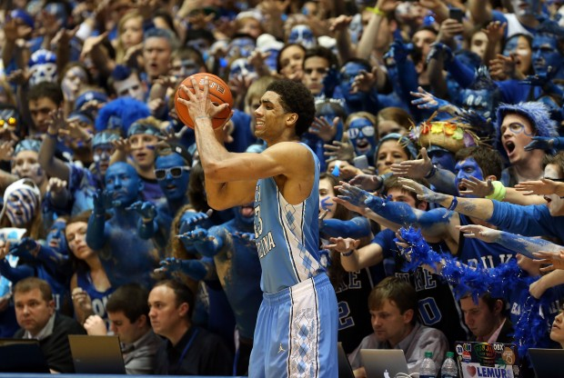 Duke vs. North Carolina./ Getty Images